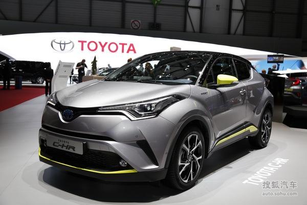 丰田C-HR 日内瓦车展实拍