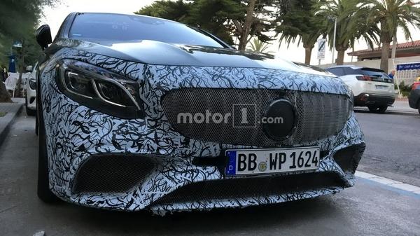 奔驰新款S级Coupe最新谍照曝光 或于9月亮相