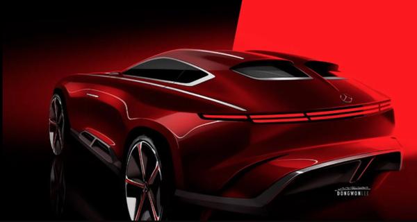 三门式设计 梅赛德斯-迈巴赫跨界SUV渲染图曝光