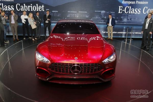 奔驰AMG GT概念车日内瓦车展实拍