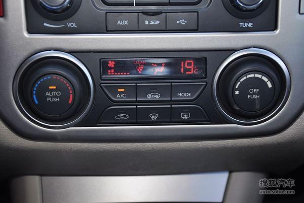 东风风神a60的空调控制面板
