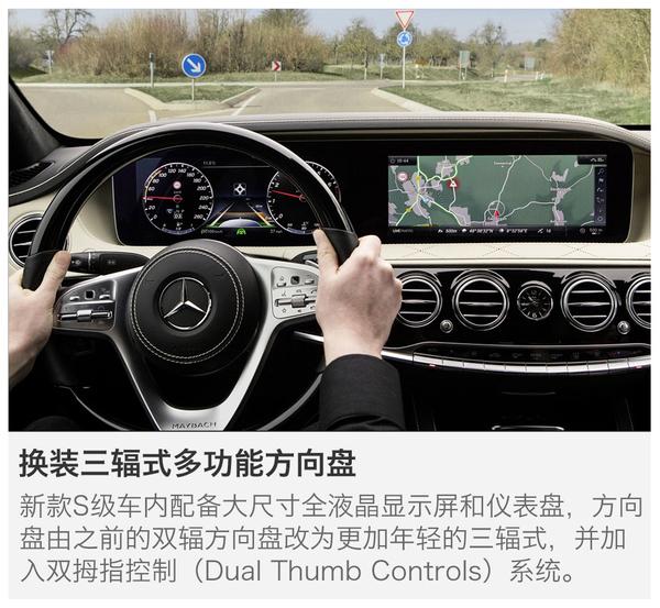 实现更高阶自动驾驶 奔驰新款S级全球首发