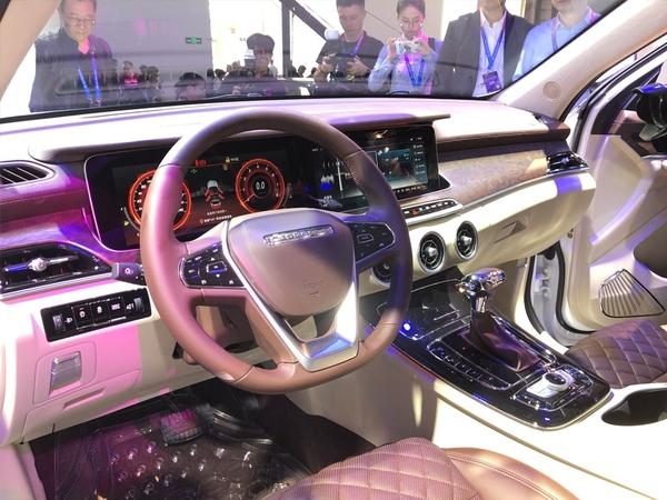 2018北京车展:猎豹全新紧凑型SUV迈途亮相