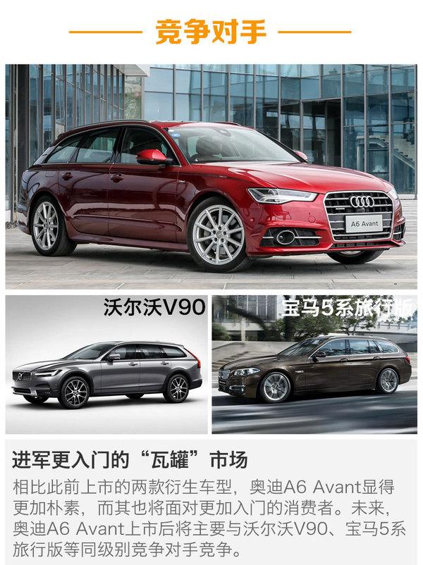 奥迪A6 Avant于6月21日上市 或售45.98万起