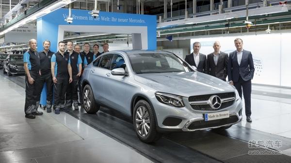 奔驰GLC Coupe下线 或年内引入国内市场