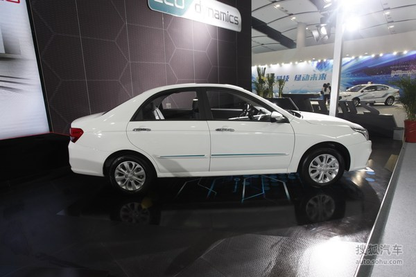 华骐E300广州车展实拍