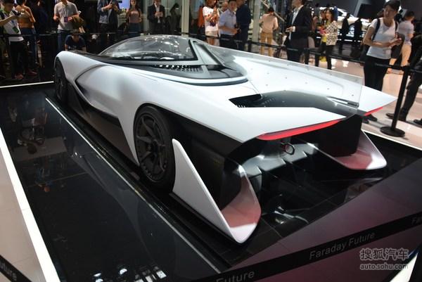 法乐第未来 FF Zero1 北京车展实拍