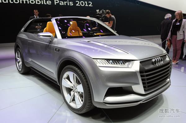 奥迪 Crosslane Coupe Concept 实拍 其它 图片
