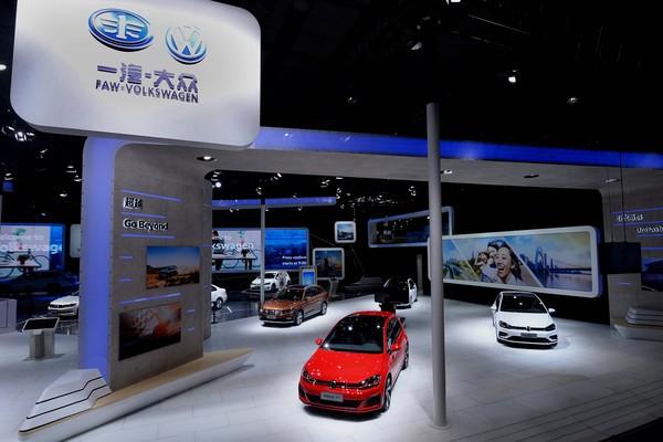 主力车型实力绽放 一汽-大众大众品牌闪耀广州车展