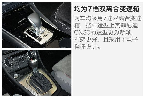 英菲尼迪 QX30 实拍 图解 图片