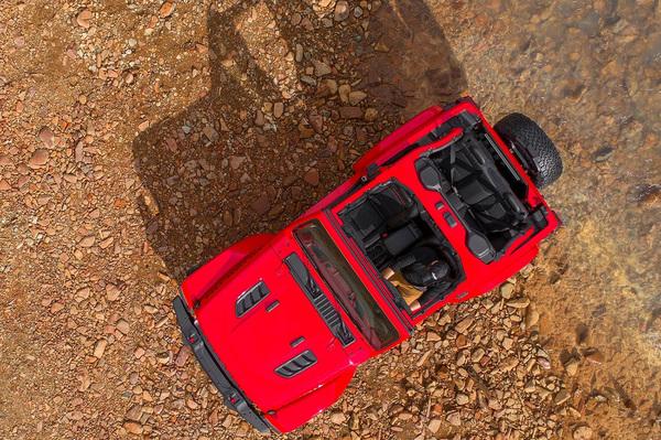 11月29日实车亮相 新Jeep牧马人外观官图