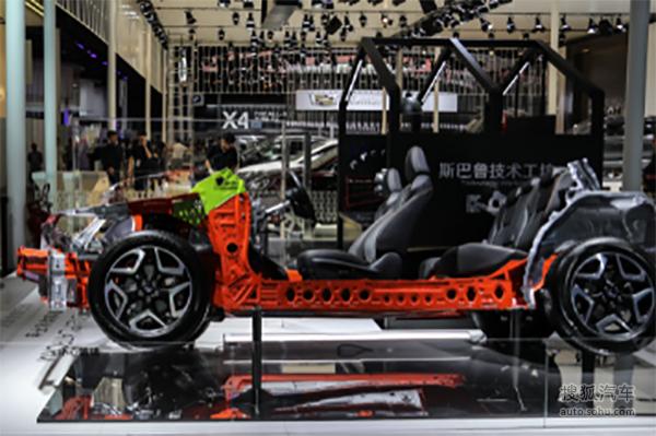 斯巴鲁智能水平对置发动机车型中国首发
