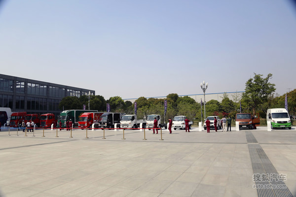 2014北京车展江淮汽车品牌日实拍