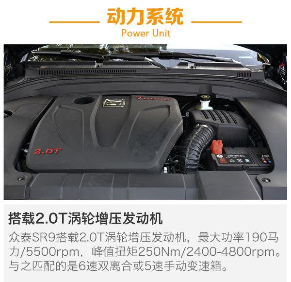 众泰SR9将于11月11日上市 预售价10.98万起