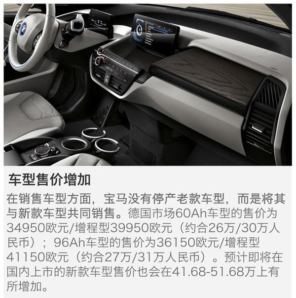 续航提升40% 新款宝马i3是否值得购买?