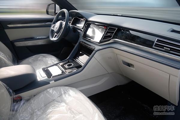 大迈X7新车型谍照曝光