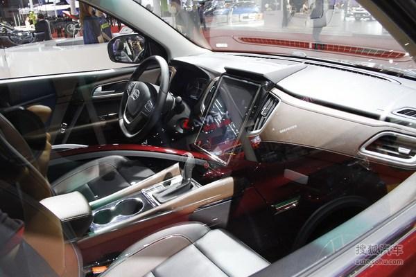 斯威X7 上海车展实拍
