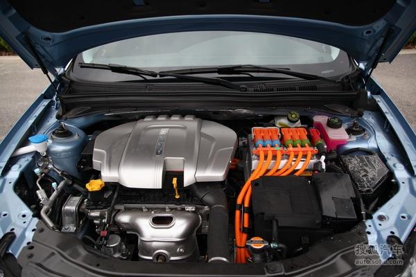 荣威 550插电式混合动力 实拍 底盘/动力 图片