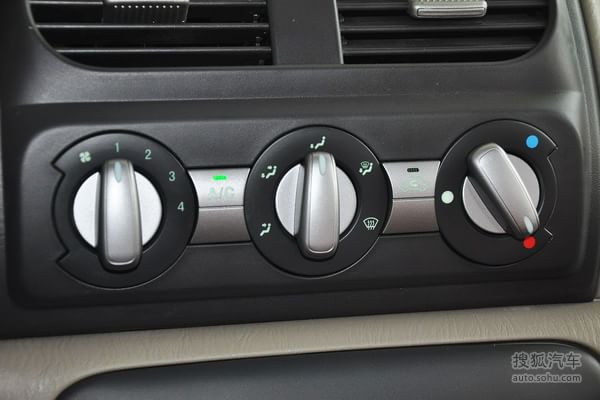 北斗星星汽车空调开关使用图解