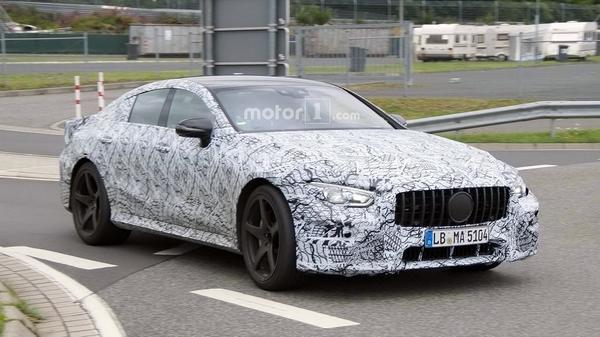 AMG GT Concept量产版曝光 预计2018年亮相
