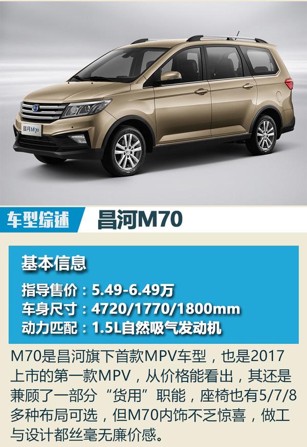 中国品牌尝试高端之路 2017上市MPV总结