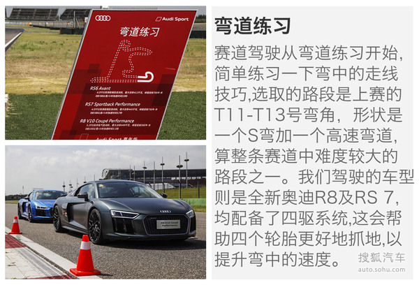 试驾Audi Sport三款高性能车
