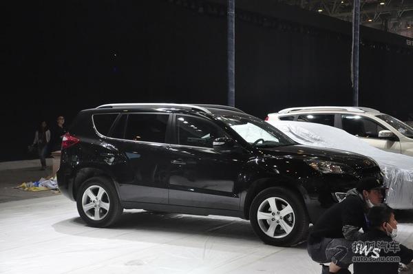 2014北京车展探营:帝豪GX9
