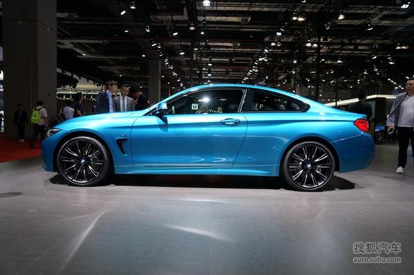 宝马 4系 Coupe 实拍 外观 图片