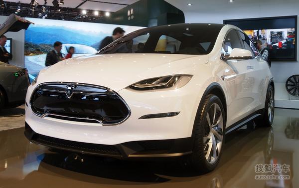 Tesla Model X 实拍 外观 图片