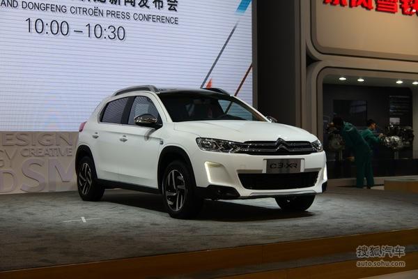 雪铁龙C3—XR 广州车展实拍