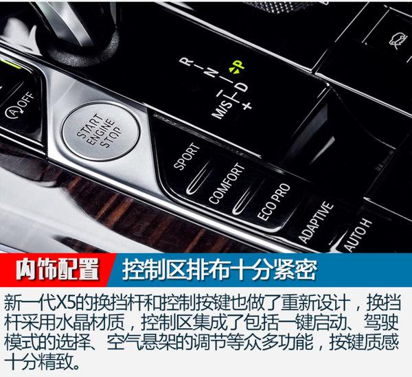 尺寸提升/配激光大灯 全新一代宝马X5官图解析