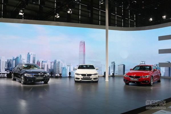 全新BMW 4系四门轿跑上市 售48万-61.2万