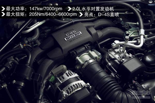 斯巴鲁brz发动机高清图片