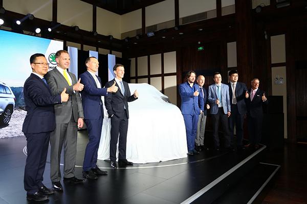 斯柯达柯迪亚克国内首发 2017年初引入国产