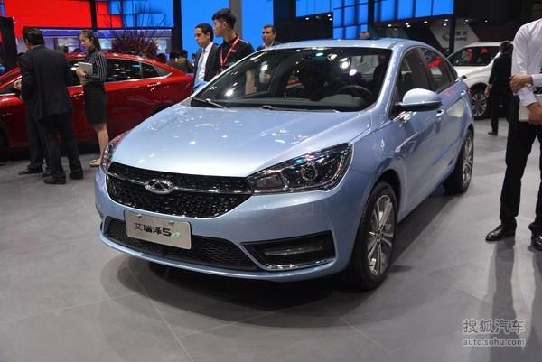 奇瑞艾瑞泽5 EV 北京车展实拍