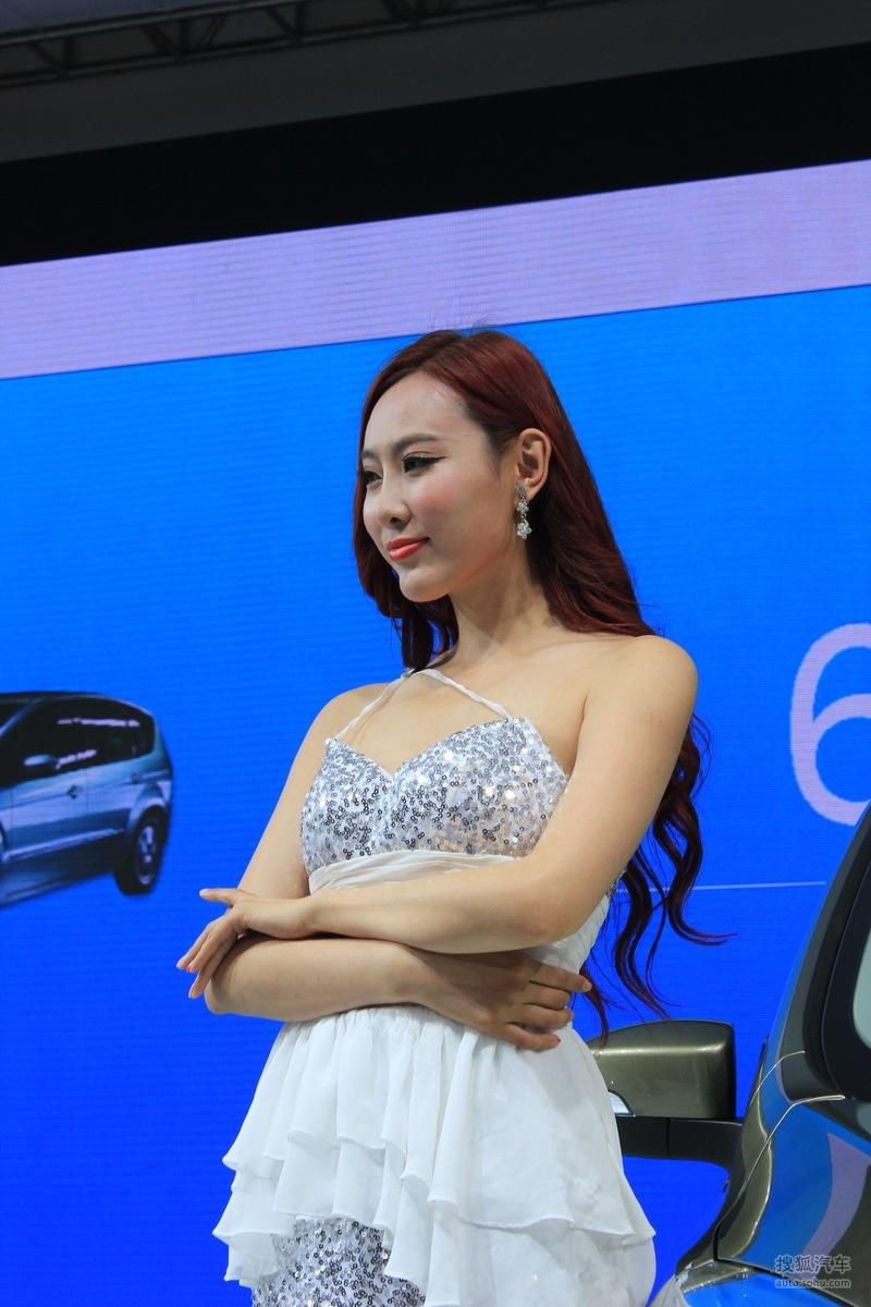 【2013青岛国际车展车模风采-福特车模1(2188743)】