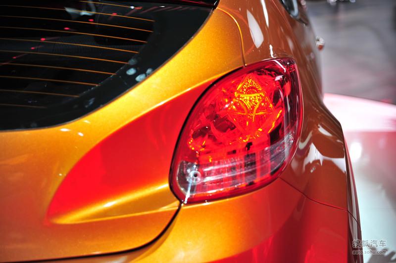 现代 进口现代 飞思veloster 2012款现代veloster 北美车展实高清图片