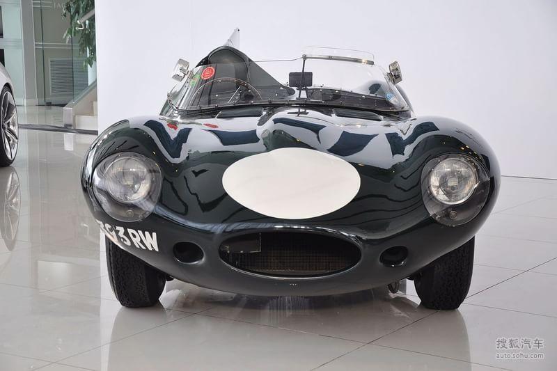 捷豹捷豹汽车d type1954款捷豹d type到店实拍 高清图片