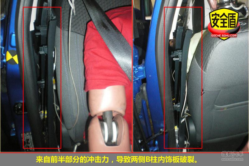 2010款福特嘉年华1.5L手动 碰撞测试图解-福特图片
