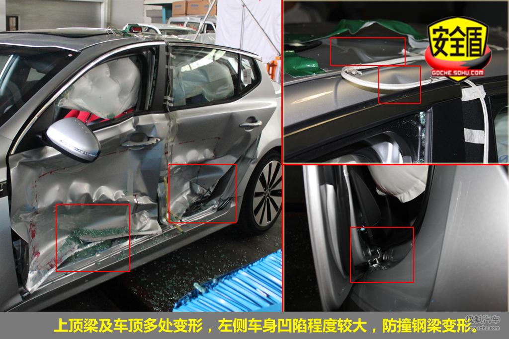 起亚K5碰撞试验图解 -汽车图片_搜狐汽车高清图片