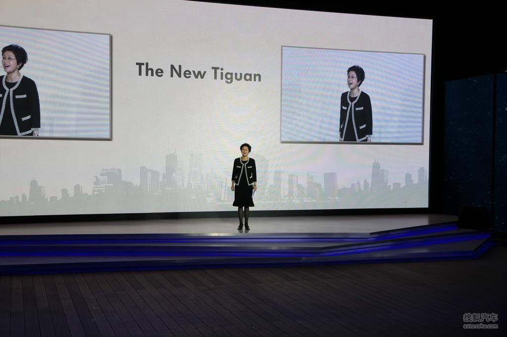大众新tiguan上市发布会现场实拍高清图片