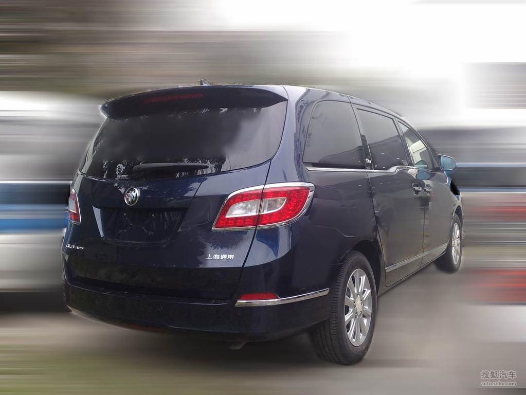 汽车图片_搜狐汽车-别克新一代GL8谍照高清图片