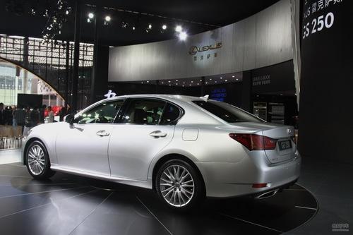 全新雷克萨斯GS250 广州车展实拍