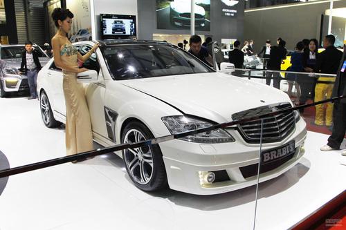 巴博斯38S 4M上海车展实拍