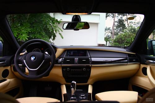 2010款宝马X6 ActiveHybrid试驾图组
