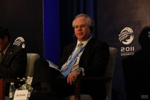 德国大陆汽车公司亚洲区总裁 Jay Kunkel