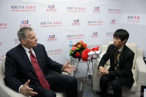 搜狐汽车专访佩卡集团副总裁 威廉