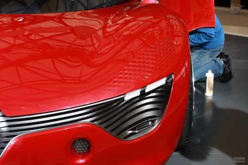 雷诺dezir概念车_百公里加速5秒的电动概念车 曝雷诺DeZir-搜狐汽车