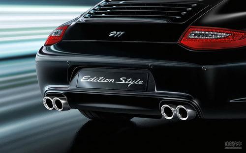 车展首发 保时捷将推911 Edition Style