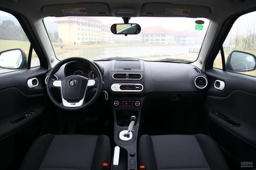 2011款上汽MG3无锡试驾